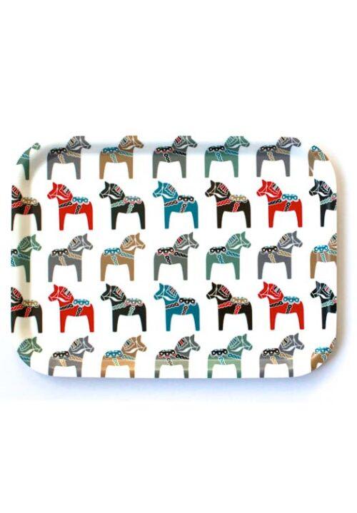 Dienblad dalarna paardjes